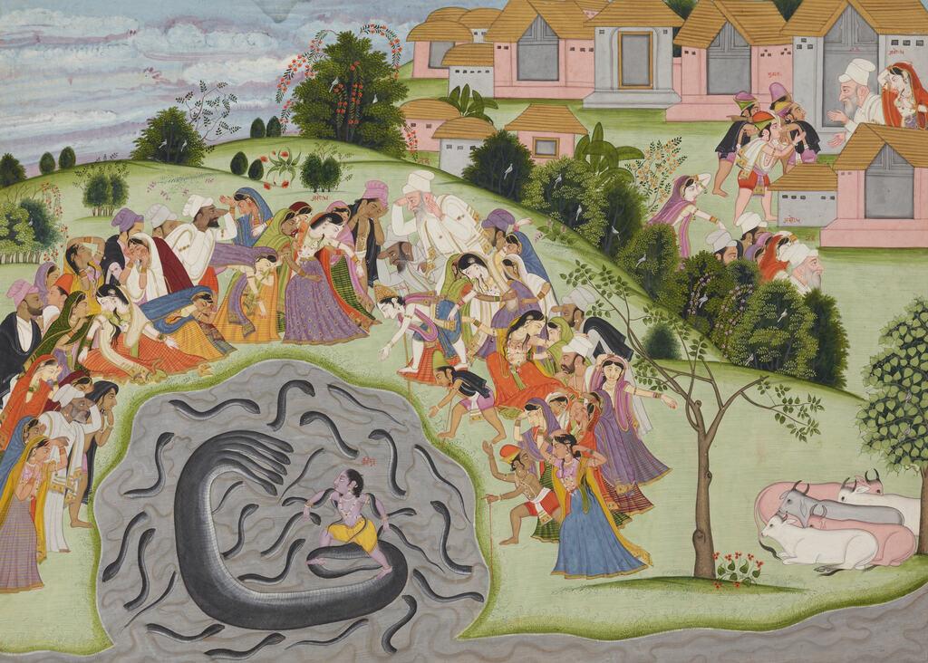 Die Perspektive In Der Indischen Malerei Kultur Online