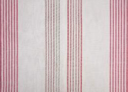 (c) Axelle Stiefel: Der Rote Faden, Detail, geflicktes Küchentuch (Stickerei), 2018.