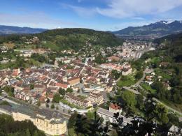 Überblick auf den Städtebau in Feldkirch (© M PS)