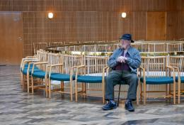 Im Rathaus kann man auch einfach nur sitzen (© MPS)