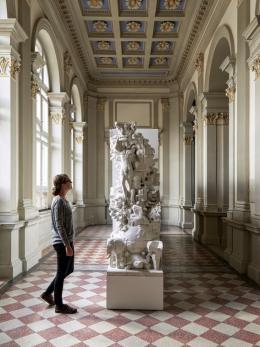 Architekturtheorie.EU, 3D-Print, 2019  Installation und Projekt von und mit Studierenden (c) Foto Günter Richard Wett