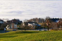 Rudolf Wägers Haus mit Nachbarschaft (© MPS)