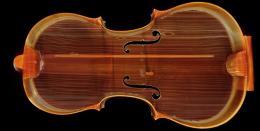 Hochleistungs-CT-Scan der Violine Absam 1682; TLMF Musiksammlung Inv. Nr. M/I 230, im Rahmen des Projektes violinforensic  © TLM