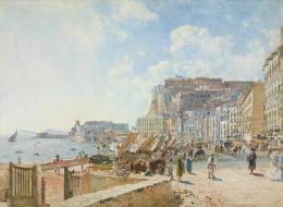 Rudolf von Alt: Am Hafen von Santa Lucia in Neapel, 1835; © Liechtenstein. The Princely Collections, Vaduz–Vienna