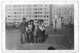 Die Chanov-Siedlung, 1980er, aus dem Archiv von Helena Nistorová
