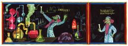"Brecht Evens, ""Idulfania"", Hg. Cartoonmuseum Basel, Christoph Merian Verlag, 2020"