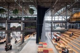 Space and Experience Architektur für ein besseres Leben Civic Architects (Gert Kwekkeboom, Ingrid van der Heijden, Jan Lebbink, Rick ten Doeschate) LocHal, Tilburg (NL), 2019 © Stijn Bollaert