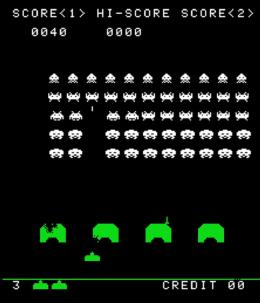 Screenshot Space Invaders © Taito