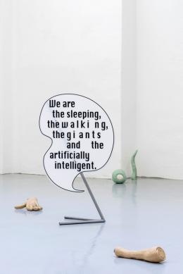Hysterical Mining Barbara Kapusta, The Giants, 2018 Installationsansicht Gianni Manhattan, 2018 Courtesy the artist