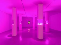 "Ausstellungsansicht (Detail) ""Christian Kosmas Mayer. Aeviternity"", mumok Museum moderner Kunst Stiftung Ludwig Wien. Photo: Klaus Pichler; © mumok/Bildrecht Wien, 2019"