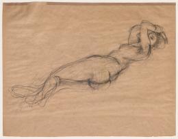 Jussuf Abbo, Weiblicher Akt, 1920. Sprengel Museum Hannover; (c)  Angela Abbo, Brighton