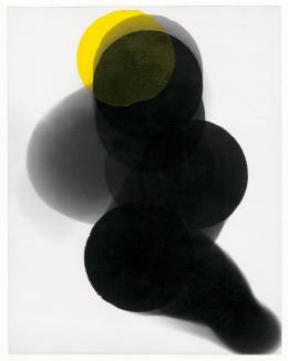 William Klein, Sans titre (Ohne Titel), 1952–1953, Silbergelatine-Abzug, gelbe Kunststofffolie, © William Klein