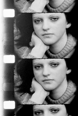 """Friedl vom Gröller """"Erwin, Toni, Ilse"""", 1968/69 16mm-Film, schwarz-weiß © Sammlung Generali Foundation – Dauerleihgabe am Museum der Moderne Salzburg, Bildrecht, Foto: Werner Kaligofsky"""