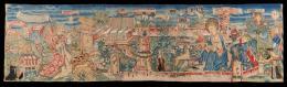Ausschnitt aus: Klosterbehang, Hortus conclusus, Basel, 1480, Wolle, Seide, Gold- und Silberlahn, gewirkt Schweizerisches Nationalmuseum, LM 1959  © Schweizerisches Nationalmuseum