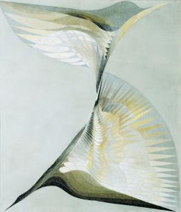 Erika Giovanna Klien Diving Bird, 1939 (Tauchender Vogel) Öl auf Leinwand / Oil on canvas 111 x 96 cm © Belvedere, Wien