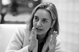 Anja Niedringhaus, 2004; © F.A.Z., Foto: Wolfgang Eilmes