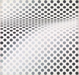 Bridget Riley Hesitate, 1964 © Tate, London/Bildrecht Wien/ Bridget Riley, 2019