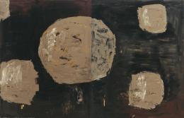 Kurt Kocherscheidt, Ohne Titel, 1990 Öl auf Leinwand, Diptychon, je 180 x 140 cm, Inv.-Nr. 0632 © Museum Liaunig / Nachlass Kurt Kocherscheidt
