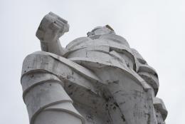 Iwan Kawaleridse, Denkmal für Artjom, (1927), 2018, Swjatohirsk, Ukraine Foto: Natalka Diachenko
