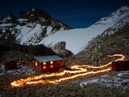 The Lewis Glacier, Mt Kenya © Simon Norfolk