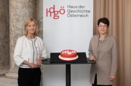 Generaldirektorin der ÖNB Dr. Johanna Rachinger und Direktorin des hdgö Dr. Monika Sommer © hdgö / eSeL.at – Lorenz Seidler