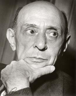 Portrait Arnold Schönberg,  Los Angeles (1940er) © Arnold Schönberg Center, Wien