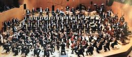 Das Orchester des Bayerischen Rundfunks in der Besetzung für die Carmen-Suite