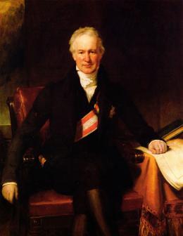 Alexander von Humboldt - Henry William Pickersgill (1782-1875). Öl auf Leinwand, 142,2 x 109,2 cm; © Privat