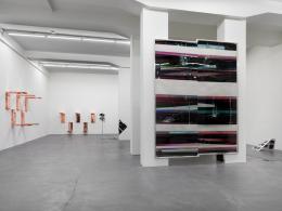 Walead Beshty *1976 Automat, 2016 (Ausstellungsansicht) Galerie Eva Presenhuber,Zürich © Walead Beshty, Courtesy des Künstlers  Foto: Stefan Altenburger Photography, Zurich