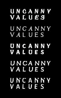 Uncanny Values. Künstliche Intelligenz & Du Process Studio, Uncanny Font, 2019 Mithilfe von künstlicher Intelligenz erzeugter Font © Process Studio
