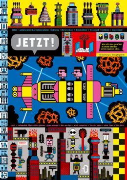 Henning Wagenbreth, Jetzt!, 2008, Offset, 168 x 119 cm, © Henning Wagenbreth