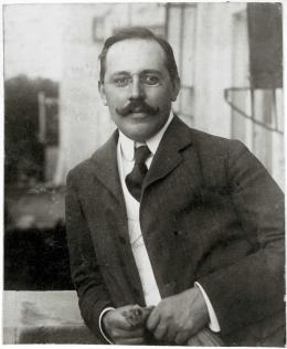Josef Hoffmann, um 1903 Fotografie © MAK-Archiv