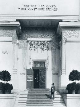 Die Secession kurz nach der Fertigstellung, 1899