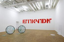 Ausstellungsansicht Petition, Salzburger Kunstverein 2019, Foto: Andrew Phelps, © Salzburger Kunstverein