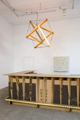 Peter Sandbichler, Ausstellungsansicht © Galerie Elisabeth & Klaus Thoman, Innsbruck / Wien Foto: kunst-dokumentation.com