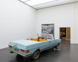 Ausstellungsansicht, Rinus Van de Velde. I'd rather stay at home, ... © Kunstmuseum Luzern, 2021, Foto: Marc Latzel
