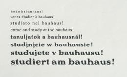 """Meyer, Hannes (Hrsg.) """"studiert am bauhaus!"""", bauhaus. zeitschrift für gestaltung,  1928 © ZKM   Zentrum für Kunst und Medien Karlsruhe, Foto: A. Körner, bildhübsche Fotografie, Institut für Auslandsbeziehungen"""
