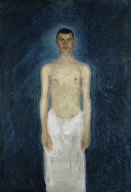 Selbstbildnis als Halbakt, 1902/04 © Leopold Museum, Wien