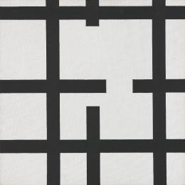 Verena Loewensberg 1912–1986: Ohne Titel , 1945. Ölfarben auf Leinwand, 56 x 56 cm; Kunst Museum Winterthur. © Henriette Coray Loewensberg, Zürich; Photo: SIK-ISEA, Philip Hitz, Zürich