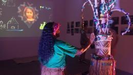 Arte Eletrônica Indígena / Thydêwá // Fotocredit: Rosana Bernardo