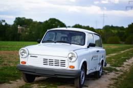 Maurice Rogée, E-Trabant 1.1, Oldtimer-Trabant mit Elektro-Motor