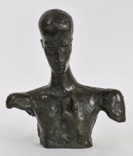 Wilhelm Lehmbruck, Kopf eines Denkers, 1918, Bronze, Lehmbruck Museum, Duisburg, Foto Dejan Saric
