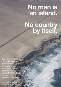 Wolfgang Tillmans, Anti-Brexit Campaign, 2016. Courtesy the artist