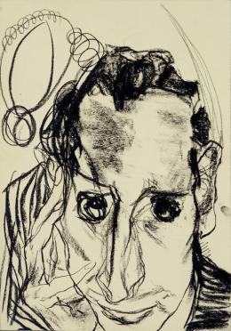 Edmund Kalb, Selbstbildnis, 1930 © Privatbesitz Foto: Archiv Sagmeister, © Rudolf Sagmeister/Kunsthaus Bregenz