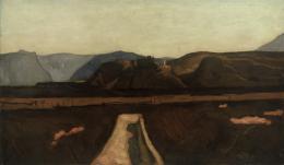 Albin Egger-Lienz, Sigmundskron, 1921, Öl auf Leinwand  © TLM