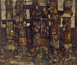 "Egon Schiele, ""Waldandacht"" II, 1915 © Kunsthaus Zug, Stiftung Sammlung Kamm Foto: Kunsthaus Zug, Alfred Frommenwiler"