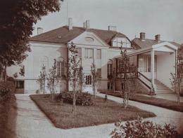 Anonymer Fotograf, Villa Rothberger, gartenseitige Ansicht, um 1915 © Privatbesitz, Foto: Leopold Museum, Wien/Manfred Thumberger