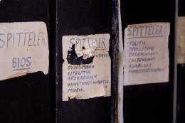Fränkels Recherchen und Arbeiten zu Carl Spitteler. Foto: Simon Schmid © Schweizerische Nationalbibliothek