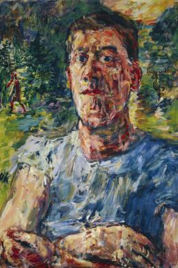 """Oskar Kokoschka, Selbstbildnis als """"entarteter Künstler"""", 1937 © National Galleries of Scotland, Edinburgh. On loan from a private collection, © Fondation Oskar Kokoschka/ Bildrecht, Wien, 2018"""
