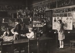 Kinder der Jugendkunstklasse von Franz Cizek, ca. 1920  © Wien Museum